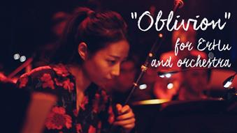 Oblivion by A.Piazzolla for ErHu and orchestra